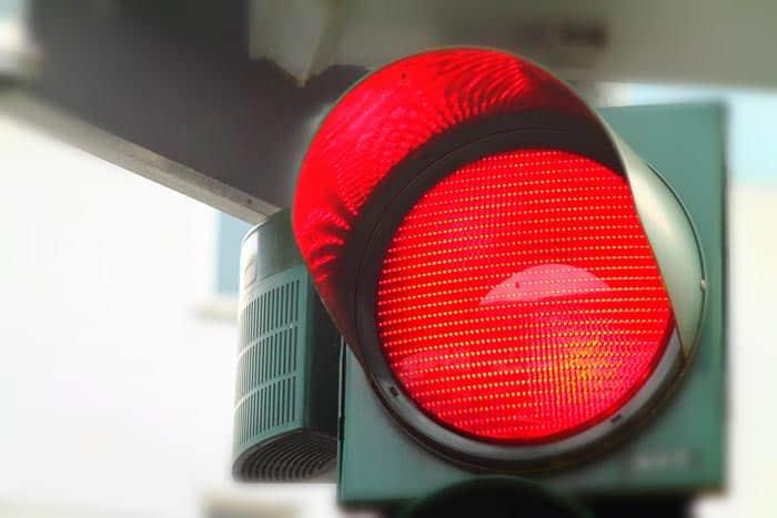 Verkehrsrecht Rote Ampel